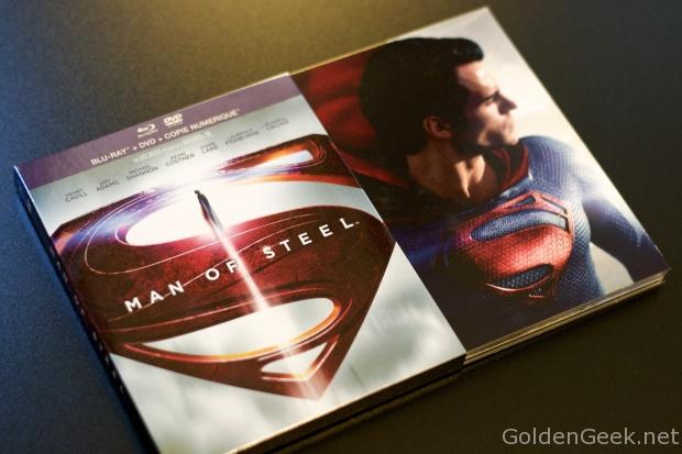 Man of Steel Blu Ray