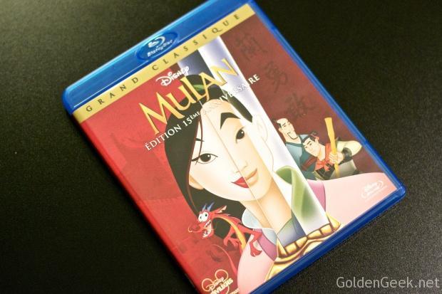 Shopping Blu Ray Disney Mulan