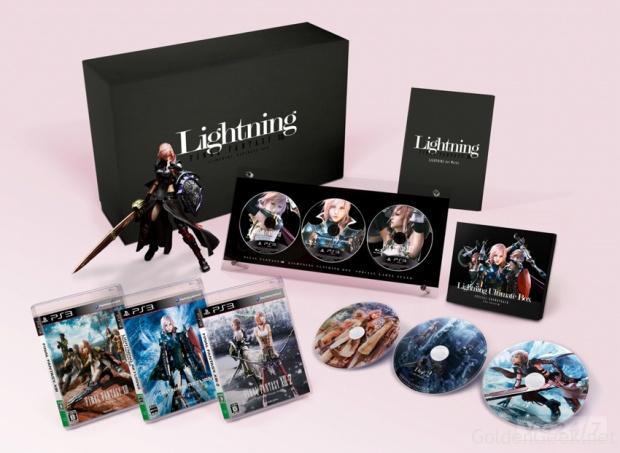 Final Fantasy XIII Lightning Returns Ultimate Box