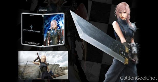 Final Fantasy XIII Lightning Returns Steelbook Cloud