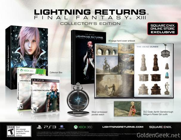 Guide Collector Final Fantasy XIII Lightning Returns