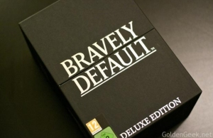 Unboxing Bravely Default Collector