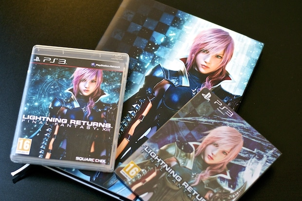 Final Fantasy Lightning Returns Collector Steelbook