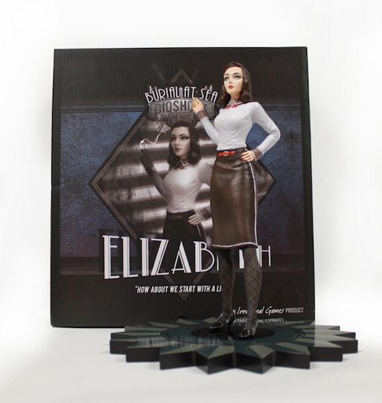 Precommande Figurine Elizabteh Noir Bioshock