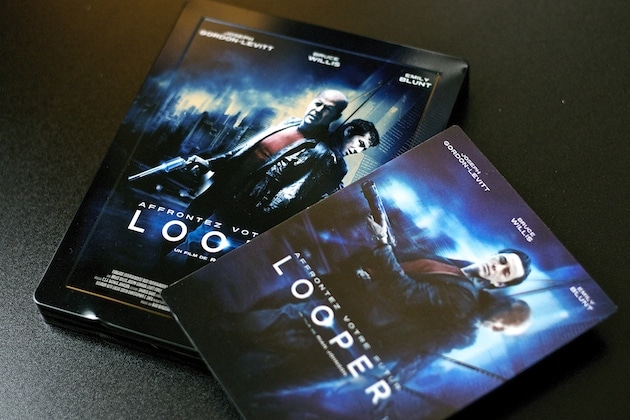 Looper Arrivage Blu Ray Collector