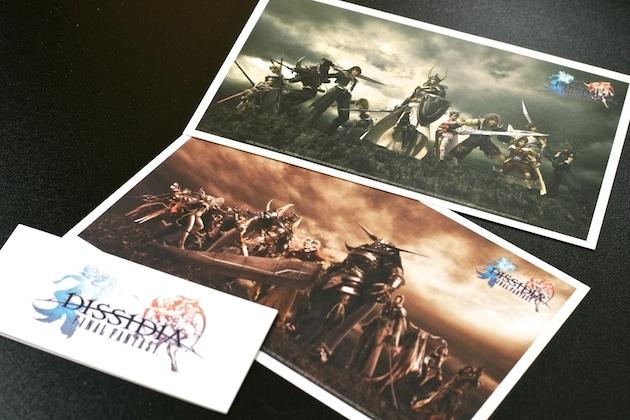 Collector Final Fantasy Dissidia