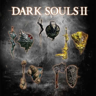 Dark Souls 2 Black Armour Weapons
