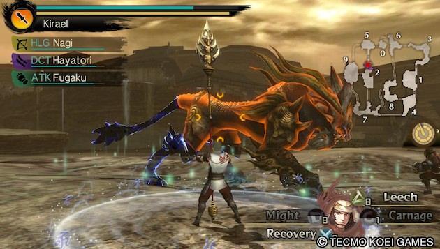 Test Toukiden The Age Of Demon PS Vita