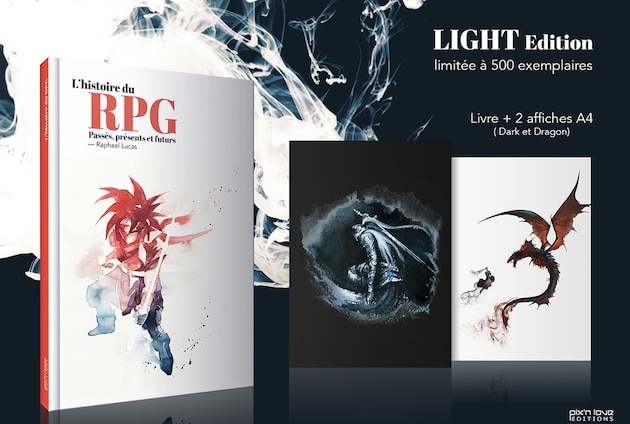 Precommande hitoire du rpg light edition