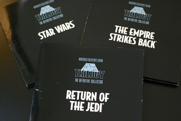 Star Wars Laser Disc Definitive Edition Collector