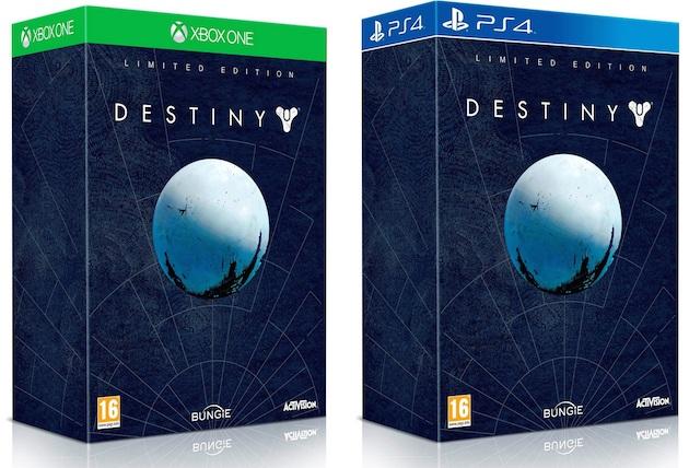 Destiny Limited Collector precommande