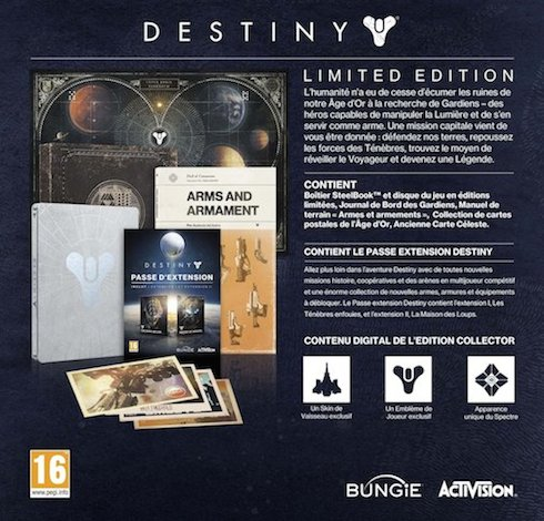Destiny Limited Collector