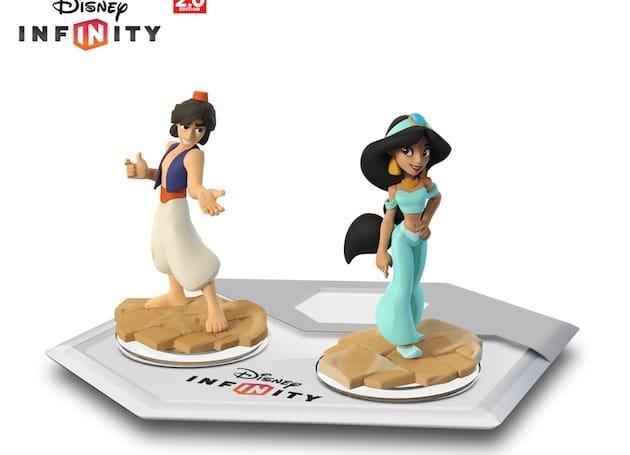 Disney Infinity Aladdin et Jasmine