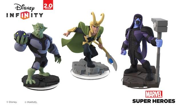 Disney Infinity Loki Ronan Green