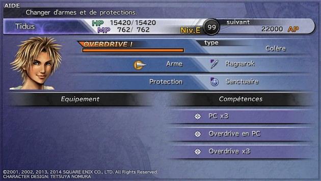 Final Fantasy X Comment gagner beaucoup exp AP