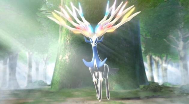 Pokemon X 3DS Xerneas