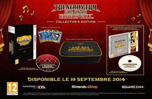 Precommande Theatrhythm Final Fantasy Curtain Call Collector