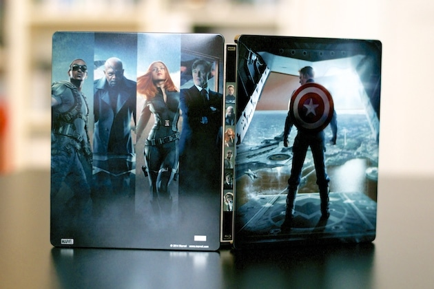Steelbook Captain America 2 Soldat de l'hiver