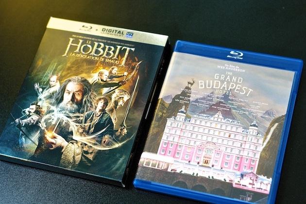 Blu-ray Hobbit Smaug Grand Budapest Hotel