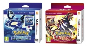 Precommande Pokemon Saphir Alpha Collector