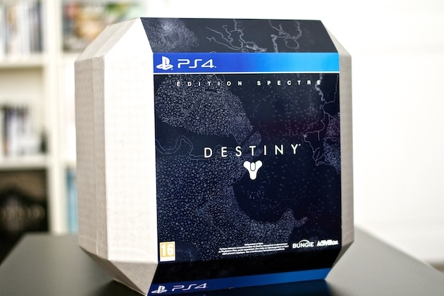 Unboxing Destiny Ghost Edition