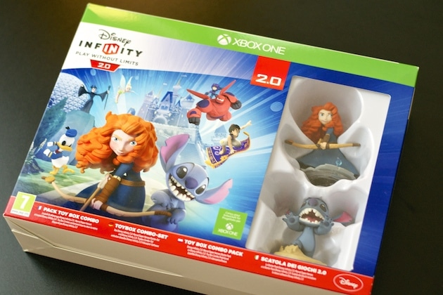 Disney Infinity 2 Starter Pack Toy Box