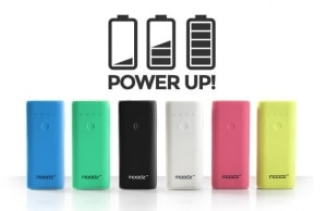 Test batterie portable Power Up Moodz