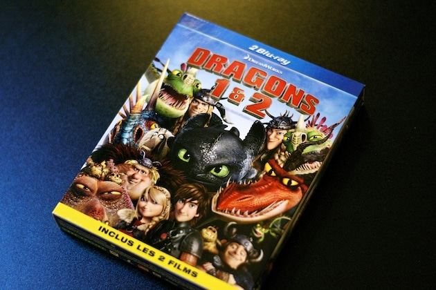 how to train your dragon 1 and 2 blu ray