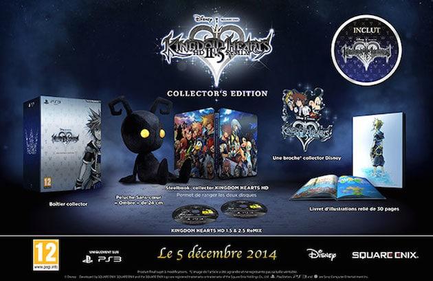 Precommande Kingdom Hearts Remix 2.5 Collector