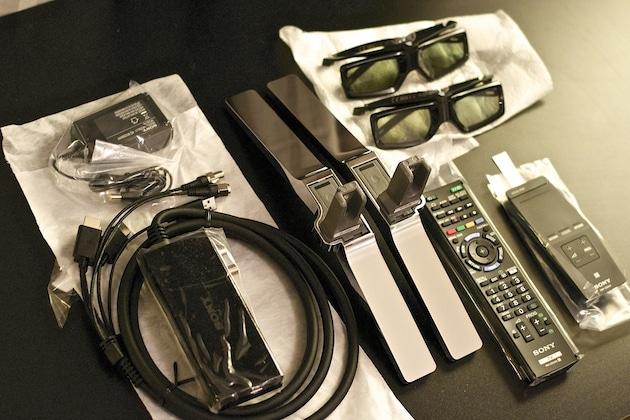 Installation TV 4K Sony KDL-55X9005B