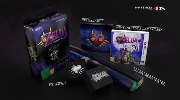 Precommande Zelda Majora's Mask 3DS Collector