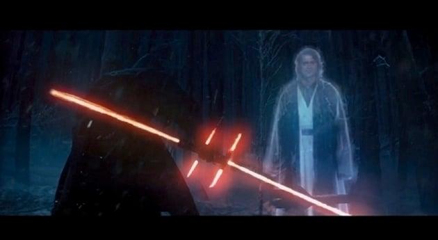 Star Wars Episode VII Trailer Alternatif