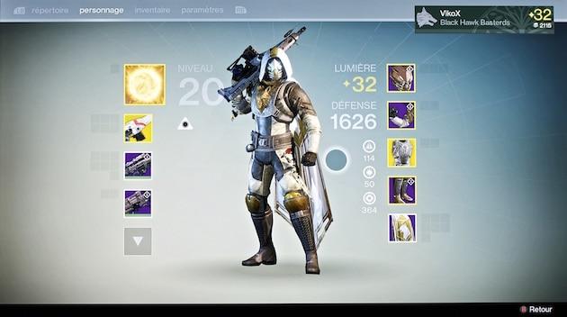 Destiny chasseur niveau 32 raid cropta difficile