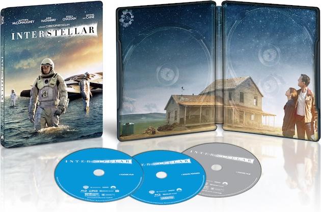 Precommande Interstellar edition limitee fnac steelbook
