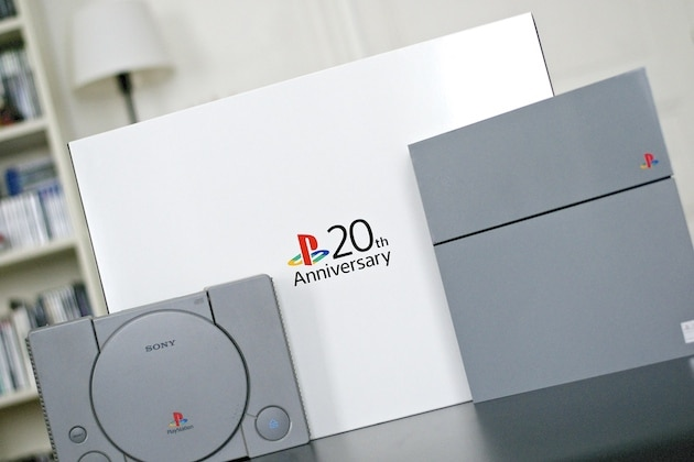 Unboxing PS4 20th Anniversary collector