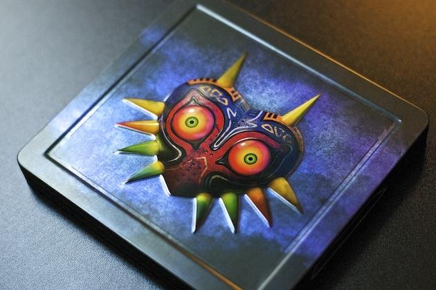 Unboxing Zelda Majora's Mask 3D Edition Collector Steelbook