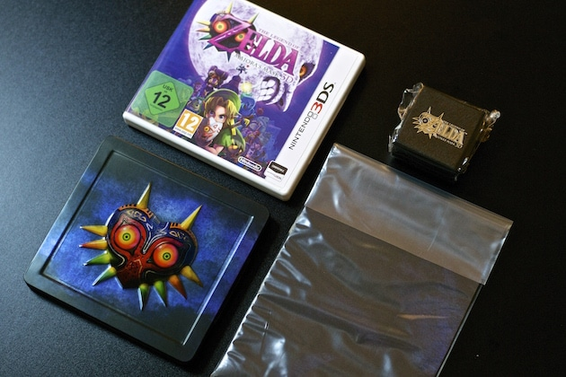 Unboxing Zelda Majora's Mask 3D Edition Collector