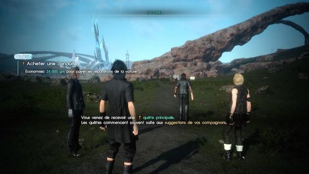 Impressions demo Final Fantasy XV Duscae-8