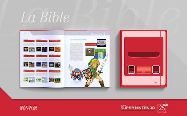 Precommande La Bible Super Nintendo Collector Pix'n Love