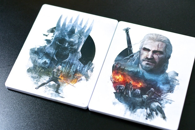 Shopping steelbook the witcher 3