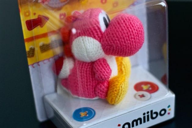 Arrivage Amiibo Yoshi laine nintendo