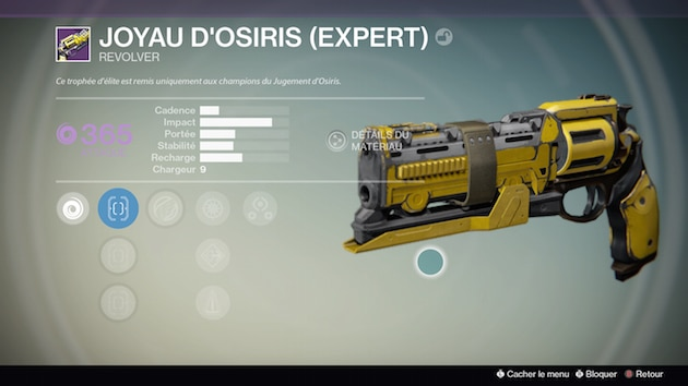 Destiny Osiris Phare Mercure Joyau Osiris