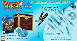 Precommande Dragon Quest Heroes COllector PS4