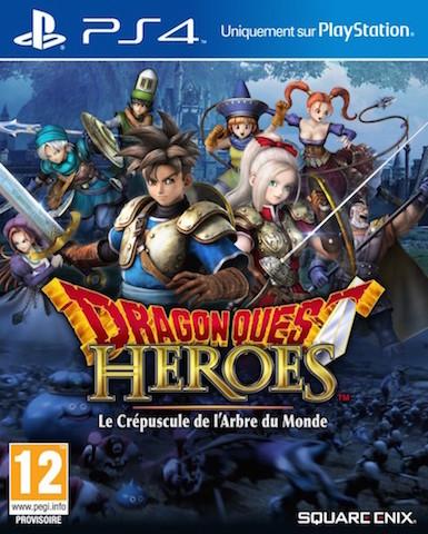 Precommande Dragon Quest Heroes COllector PS4
