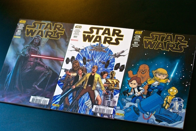 Star Wars tome 1 Panini couvertures collecto