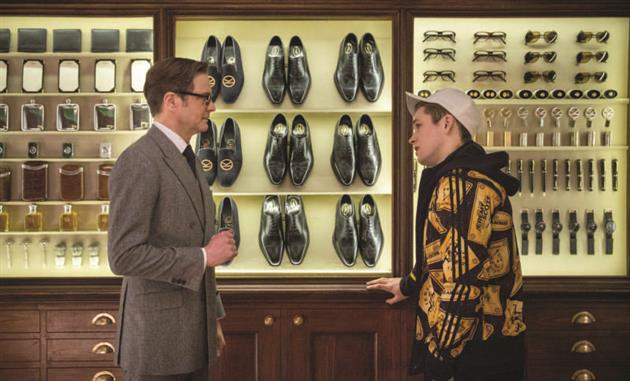 Avis Kingsman Services Secrets Blu Ray
