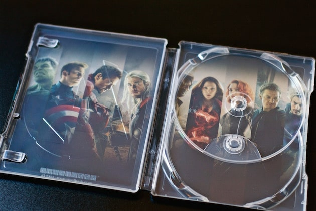 Blu-Ray Steelbook Avengers 2 Age of Ultron