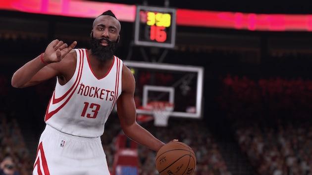 NBA 2K16 Preview Harden