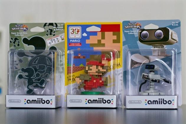 Arrivage nouveaux Amiibo ROB