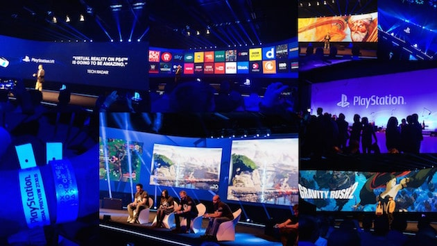 Conference Playstation Paris Games Week 2015